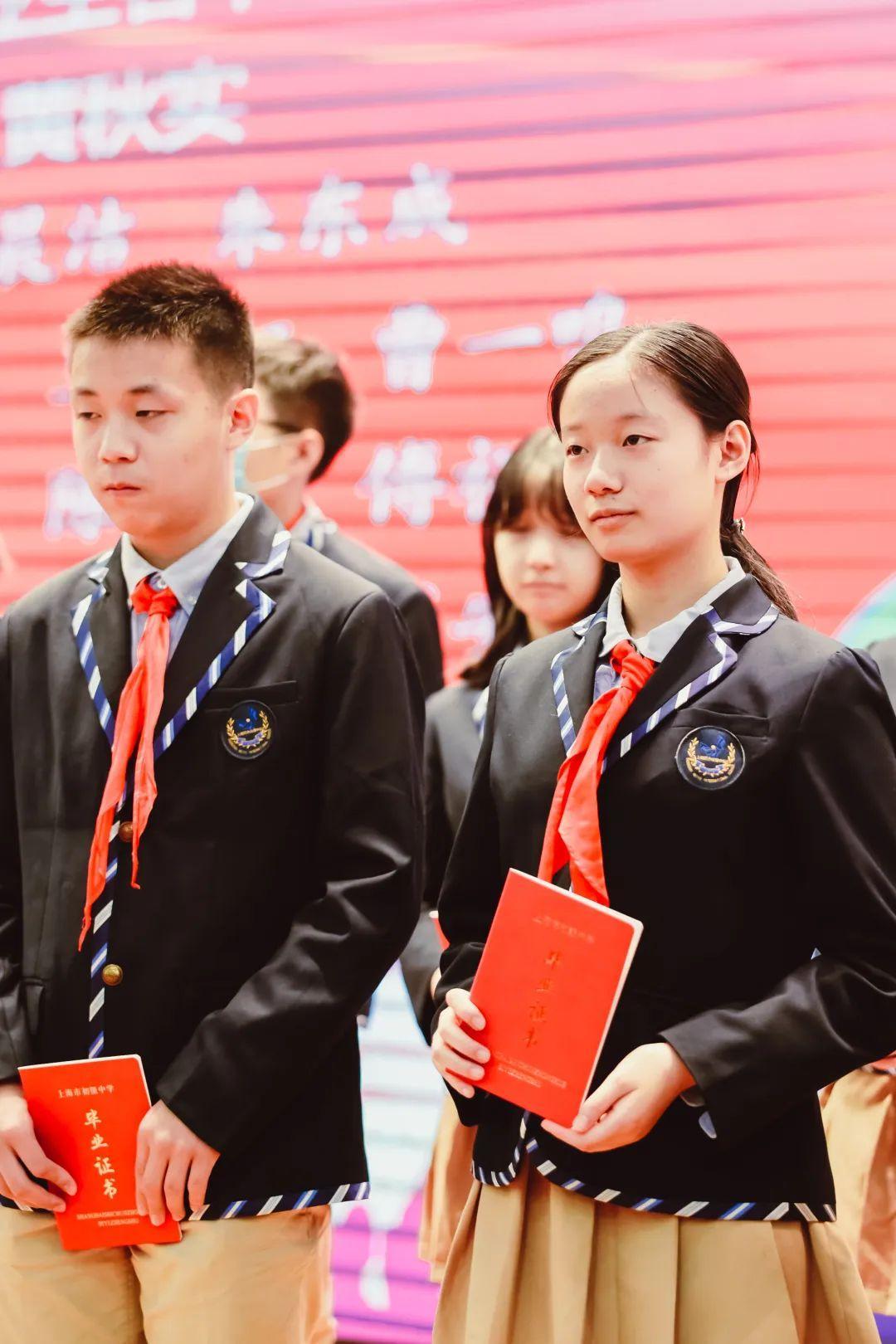 毕业季 | 骊歌唱响,共盼未来——上海民办位育中学2020届初中毕业典礼暨退队仪式图片_2097151