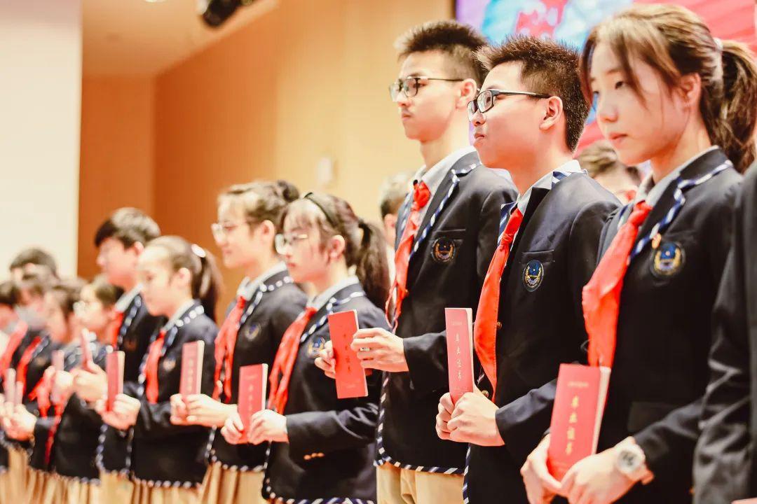 毕业季 | 骊歌唱响,共盼未来——上海民办位育中学2020届初中毕业典礼暨退队仪式图片_524287