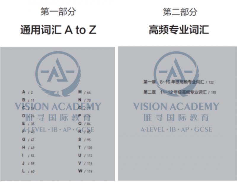 国际课程学生必备词汇书来了,适配ALEVEL、IB、AP三大体系内容图片_10