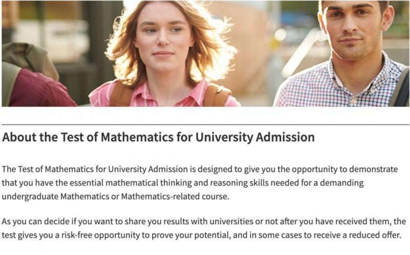 备受英国G5院校偏爱的TMUA数学考试到底是什么内容图片_1