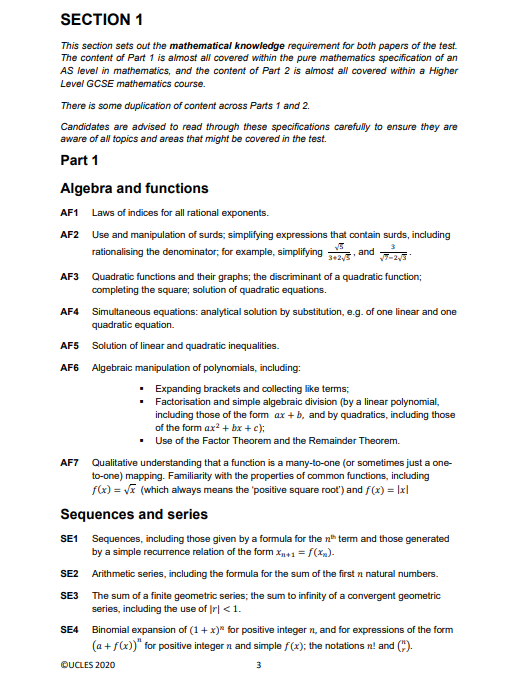 牛剑笔试   剑桥计算机科学专业入学前测:CTMUA的备考指南内容图片_8