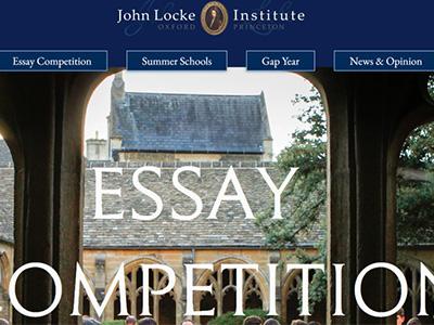 John Locke约翰·洛克写作竞赛截稿时间于6月30日截止 这7大领域你会选择哪个写呢