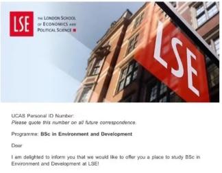 2度申请LSE都拿到了offer 来听听看学姐对于LSE本科申请的建议都有哪些吧内容图片_1