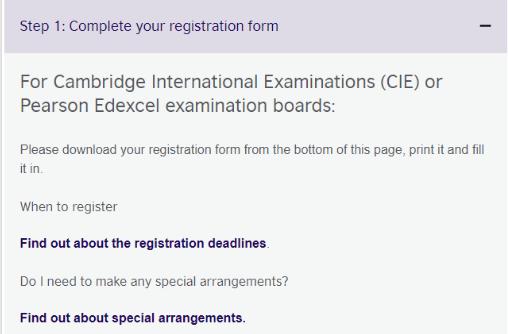 独立考生注意了 CIE大考Alevel社会考生报名时间和注意事项来了内容图片_3
