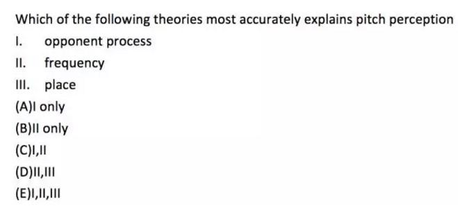 AP心理学考题分析  重点在这里别在抓错复习重点了内容图片_3