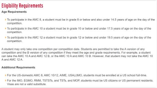 AMC竞赛复习时间规划表来了 据说今年还有这些特别要求内容图片_1