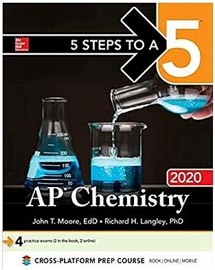 AP化学教材和教辅分享  这几本你会选择哪本呢?内容图片_1