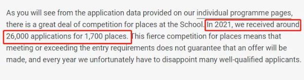 LSE录取率大公开  想成功申请LSE推荐信和文书必不可少内容图片_1