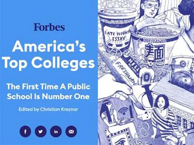 福布斯2021美国大学排名发布 加州伯克利打败哈佛成为第1