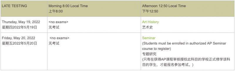 4地2022AP考试报名全开 陆港新韩注册攻略汇总内容图片_4