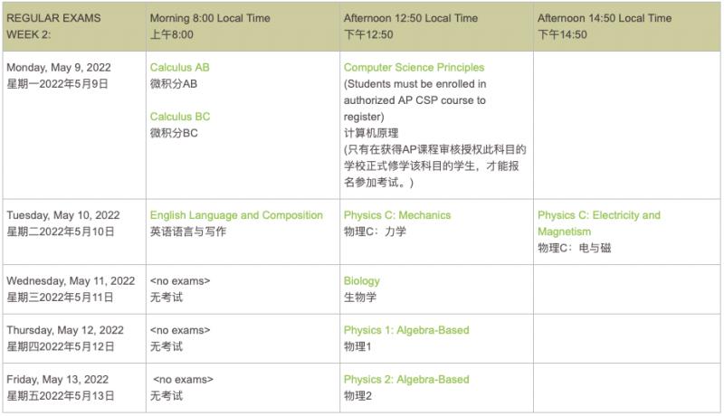 4地2022AP考试报名全开 陆港新韩注册攻略汇总内容图片_3