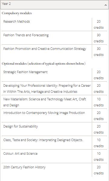 利兹大学时尚营销alevel要求ABB即可  快来做时尚达人内容图片_4